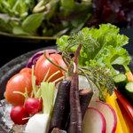 座空 - 旬の丸かじり野菜