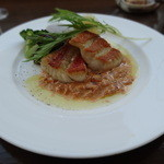 千疋屋レストラン BIWAWA - 金目鯛のポワレ桜海老のクリームソース
