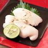 """銀座 ふく太郎 - 料理写真:クリーミーなとらふく白子は""""焼き""""がお薦めですが・・鍋に入れたり、雑炊に入れたりとお客様のアレンジで楽しまれています!"""