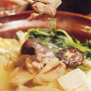 福治 - 料理写真:宮崎地鶏鍋