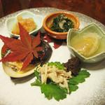 モリタ屋 - 料理写真:前菜5種
