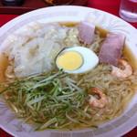 呉龍 - 冷 麺 (ワンタン入り) @\800-