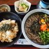 奥出雲 そば処 一福 - 料理写真:そば定食(温)750円