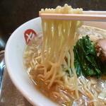 中華そば まるき - 草村商店の麺