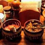 博多 一風堂 - 高菜、紅しょうが、