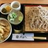 出雲そば花びし - 料理写真:ざる蕎麦セット