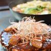 京ちゃばな - 料理写真:冬限定!とろっと柔らか!豚角煮のお好み焼き