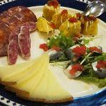 赤坂スペインクラブ アラ - シェフのおまかせ前菜4種