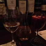 15842990 - 白ワイン(デキャンタ)とサングリア