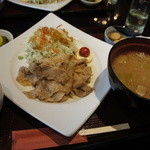15852833 - 生姜焼き定食
