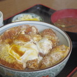 松葉屋 - チキンカツ丼¥800-