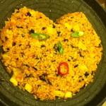 アリラン - サムギョプサル食べ放題コースよりキムチ炒飯