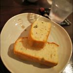 オーガニックイタリアン Kokua - 料理写真:セットAにはパンがつかないので、追加でオーダー。