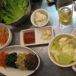 15870642 - ナムルとセットの野菜