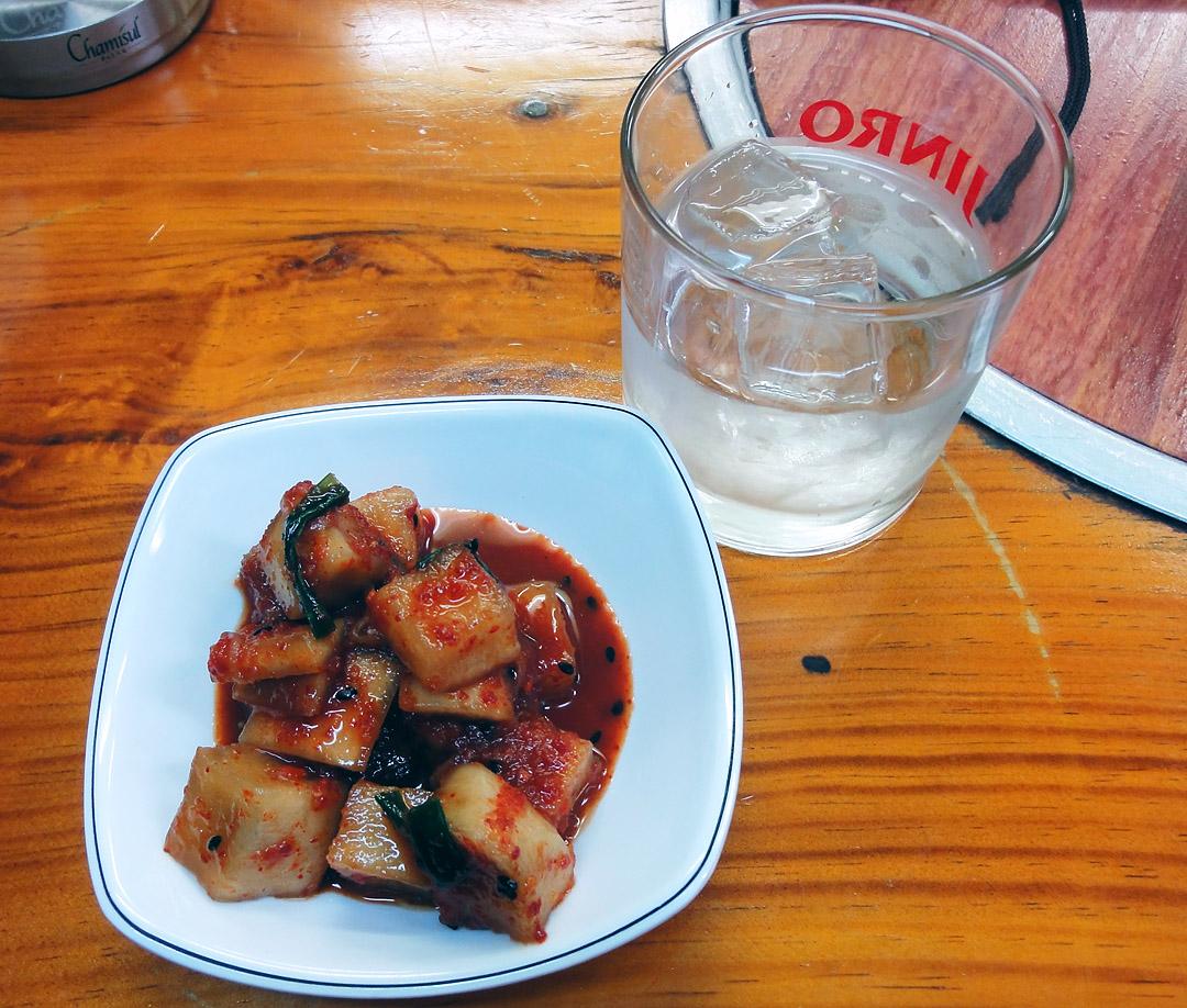 韓国家庭料理 百済