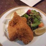 三浦飲食堂 - 秋鮭フライ