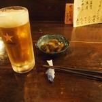 めんめ - まずは生ビール