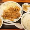 日高屋 - 料理写真:生姜焼き定食(¥590)
