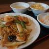 中華料理 豊楽園 - 料理写真:五目あんかけ焼きそばセット