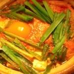 四季の晩酌料理  ままや - キムチ鍋