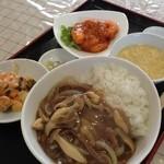 口福厨房 - 料理写真:秋のおすすめセット 1000円