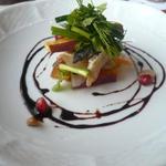 QUATRE SAISONS - さつま芋と鰯のカルピオーネ