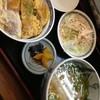 古都うどん - 料理写真:ミニカツ丼セット600円 ミニうどん、ミニカツ丼のセットです。  (*´ڡ`●)