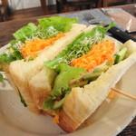 カフェ ドゥース - 今日のサンドイッチ