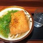 阿倍野庵 - H.24.11.20.夜 きつねうどん 300円