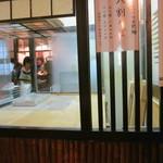 神田まつや - 蕎麦打ち場