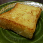 茶の子 - フレンチトースト(160円)