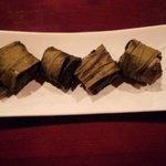 中国厨房ジャーチャン - トロトロ豚角煮の蓮の葉包み蒸し