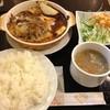 Gion - 料理写真:日替わり煮込みハンバーグ定食(850円)