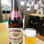 うどんの前田 - ビンビール(中ビン)