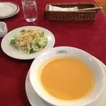 chez MACIO - サラダとスープ