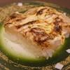 てつりゅう房 - 料理写真:帆立のトマトガーリック炙り 315円