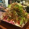 くれない - 料理写真:くれないオリジナル鉄鍋!2人前1800円で野菜たっぷり☆もつ・豚肉・牛肉から好きなお肉選べます(^O^)/