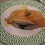 海女屋 - 焼トロサーモンは女房が1つ食べてしまいました