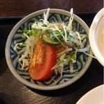 麺茶屋 - サラダ