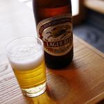 並木藪蕎麦 - 瓶ビール~☆