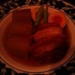 まんま みじんこ洞 - 豚肉と大根のとろとろ角煮¥780