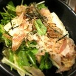 どんどん亭 - 豆腐サラダ(小)