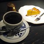 喫茶ロア - コーヒー ケーキセット