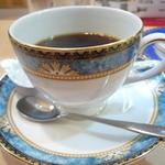 ラーメン厨房 シルクロード - ランチについたコーヒー