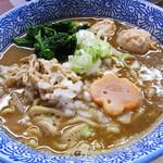 らー麺土俵 鶴嶺峰 - ラーメン700円