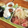 ふきだし荘 高谷 - 料理写真:ジンギスカン!