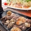 日南市じとっこ組合 - 料理写真:じとっこ焼とタタキのセット!