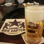 サッポロビール園 ジンギスカンホール - 生ビール