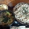 楽庵 - 料理写真:太切り田舎そば肉汁