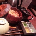 赤坂 とさか - ランチ 鶏のひつまぶし